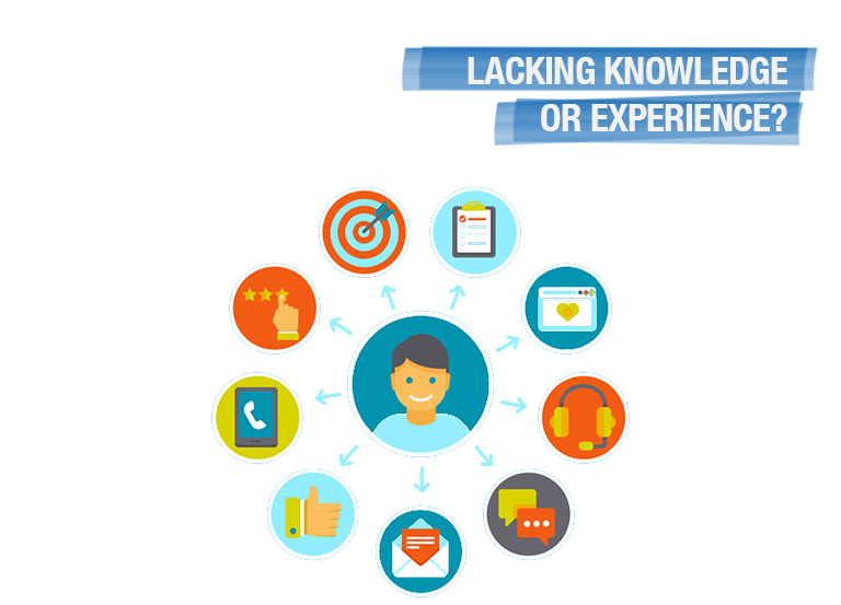 Lacking knowledge or experience?
